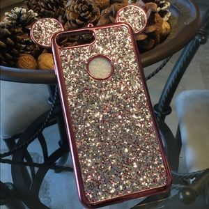 Accessories - Apple iPhone Mickey Mouse Ears Glitter Case *NEW*